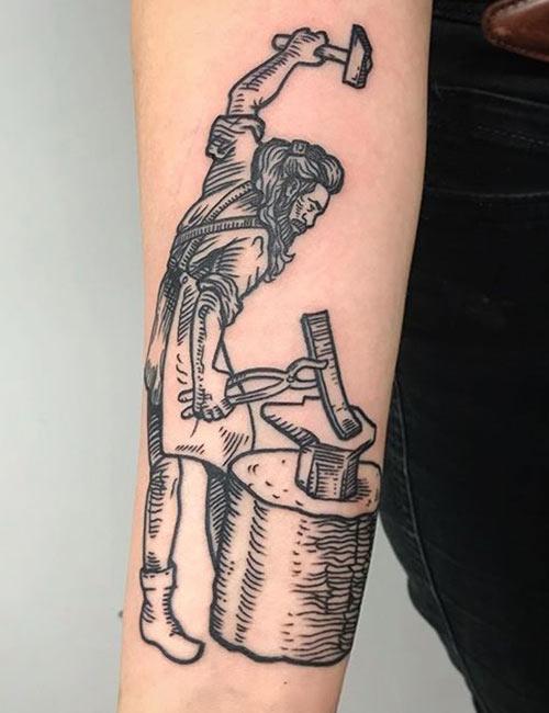 Hephaestus Tattoos