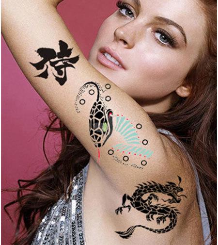 top 10 female celebrity tattoo designs