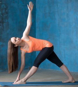 How To Do The Parivrtta Trikonasana And What Are Its Benefits