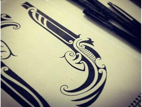 Inspired Gun Tattoo