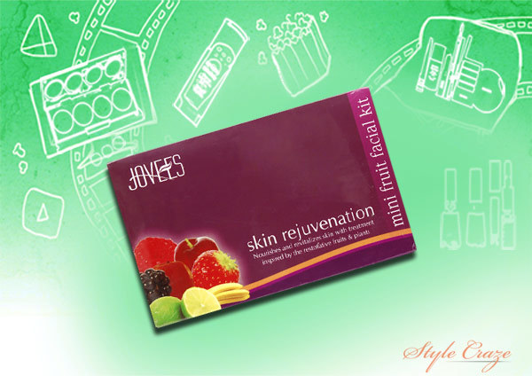 Jovees Skin Rejuvenation Fruit Facial Kit