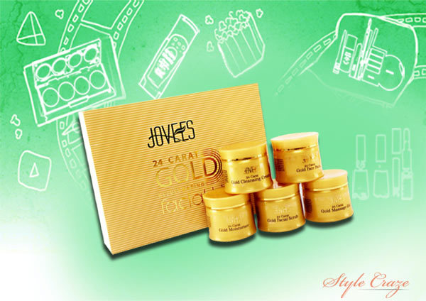 joy 24 carat gold glow facial kit