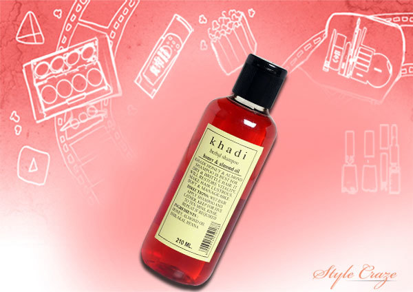 Khadi Herbals Honey and Almond Oil Shampoo