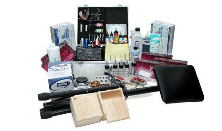 Kings Tattoo Supply Tattoo Kit 2-Basic Kit
