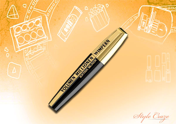 loreal paris volume million lashes extra black mascara