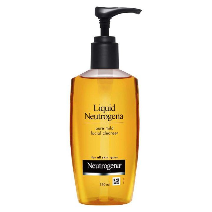 Liquid Neutrogena Pure Mild Facial Cleanser
