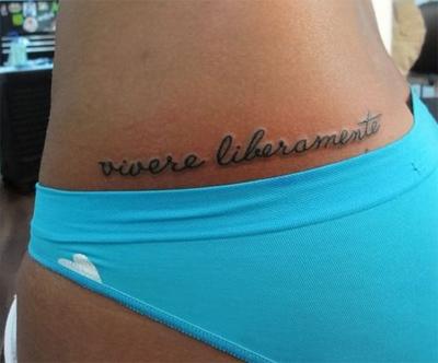 live free tattoo