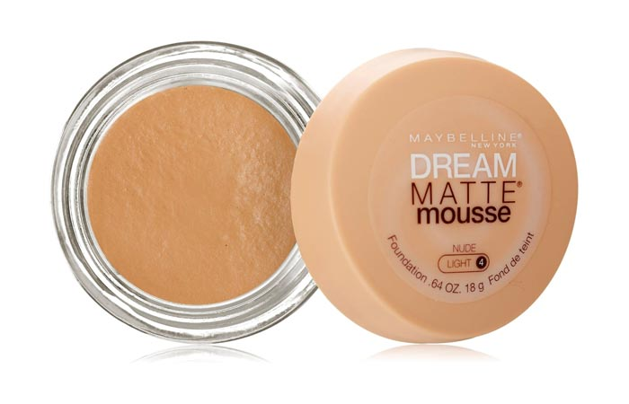 Best Foundations For Combination Skin - 10. Maybelline Dream Matte Mousse Foundation