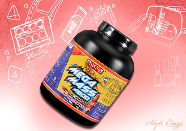 Weight Gain Products In India - Matrix Nutrition Mega Mass 4600