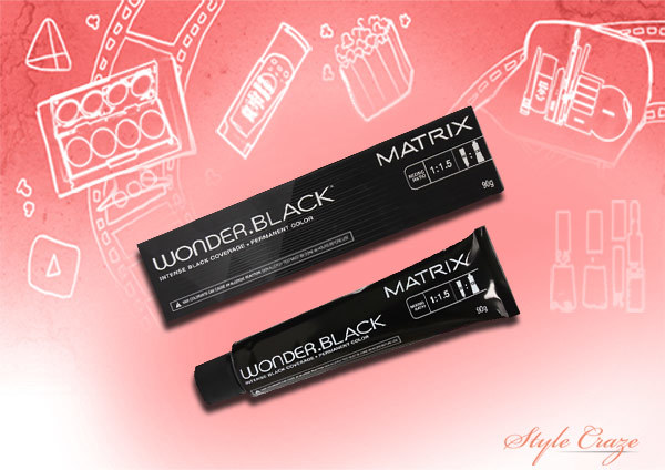 matrix wonder black permanent hair color