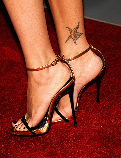 Megan Fox's Moon And Star Tattoo