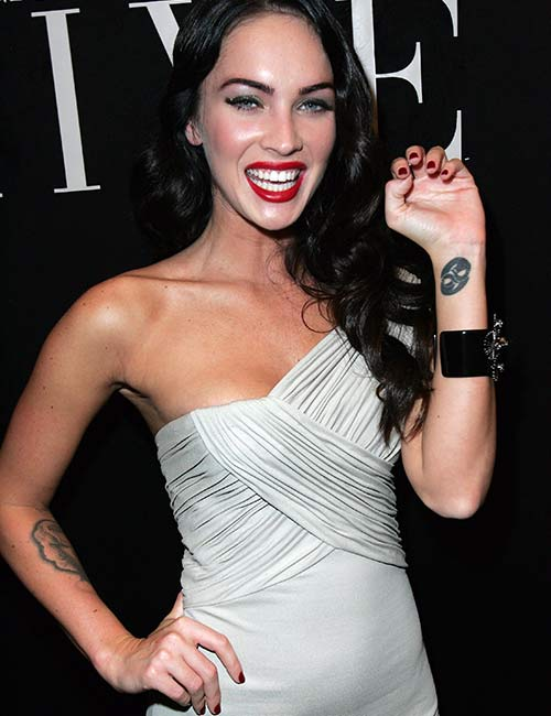 Megan Fox's Tribal Wrist Tattoo