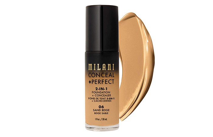 Milani Conceal+Perfect 2 In 1 Foundation+Concealer