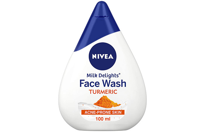 NIVEA Milk Delights Face Wash – Turmeric
