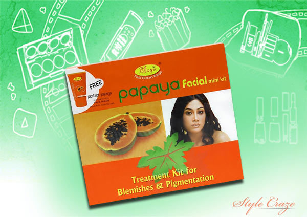 nature's essence papaya facial kit