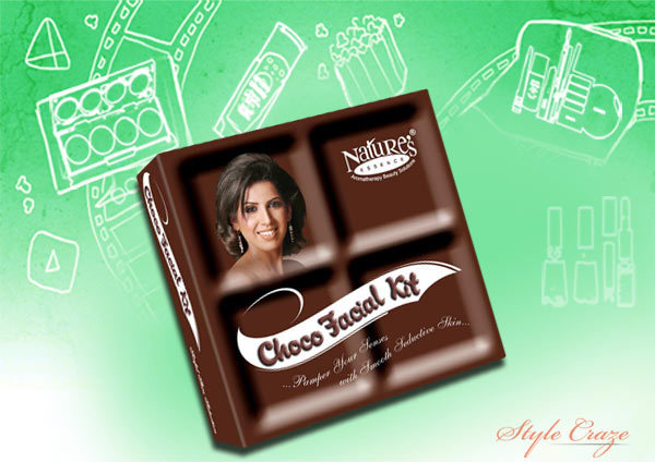 nature's essence choco facial kit mini