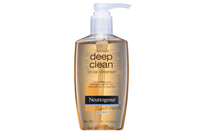 Neutrogena Deep Clean Facial Cleanser - Neutrogena Face Washes