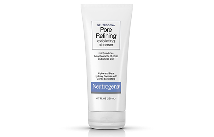 Neutrogena Pore Refining Exfoliating Cleanser - Neutrogena Face Washes
