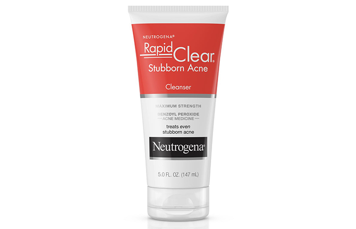 Neutrogena Stubborn Acne Facial Cleanser - Neutrogena Face Washes