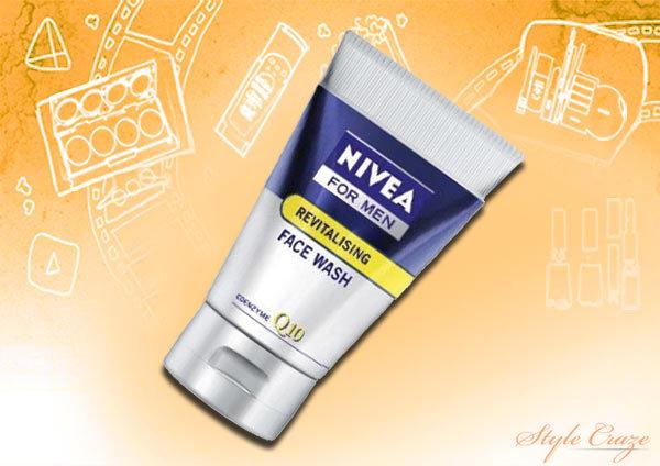 Nivea Men - Skin energy Q10 face wash