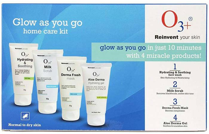 O3+ Glow As You Go Facial Kit
