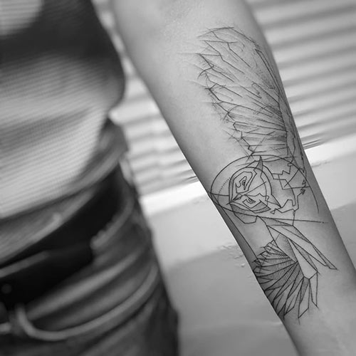 Owl Tattoo
