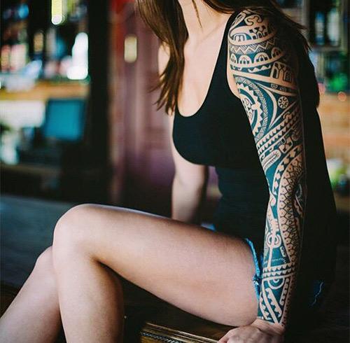 Polynesian Enata Tattoo