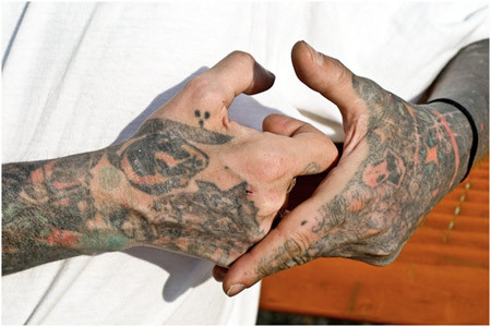 Prison Wrists Tattoos