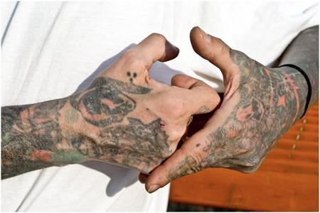 Prison Wrists Tattoos