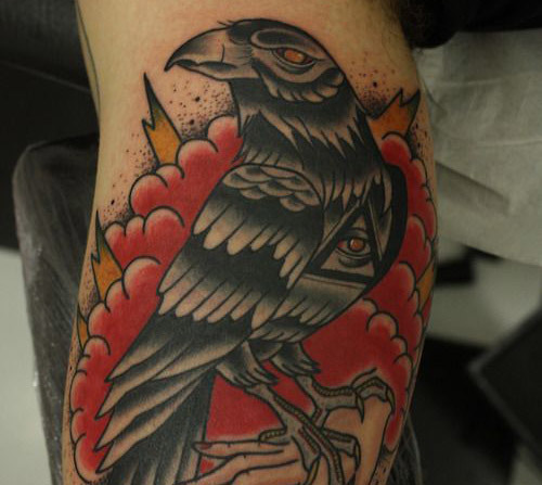 raven tattoo gypsy