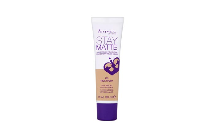 Best Foundations For Combination Skin - 4. Rimmel Stay Matte Foundation
