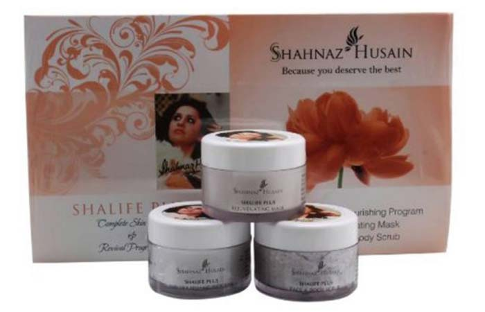 Shahnaz Husain Shalife Plus Facial Kit