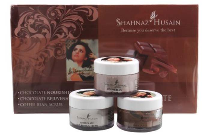 Shahnaz Husain's Vedic Solution Chocolate Facial Kit