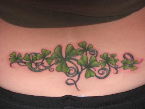 Shamrocks Tattoo