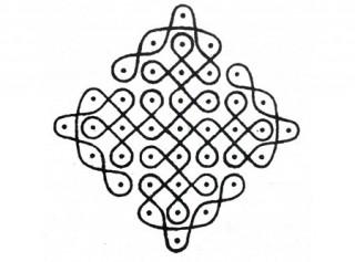 Top 10 Sikku Kolam Designs