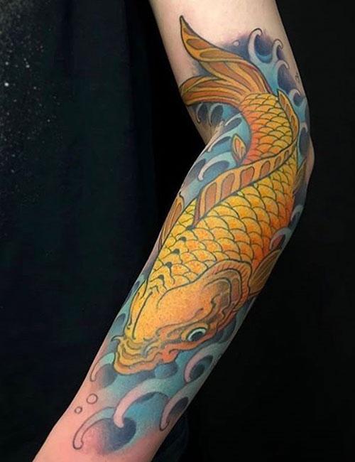 Sleeve Koi Tattoo