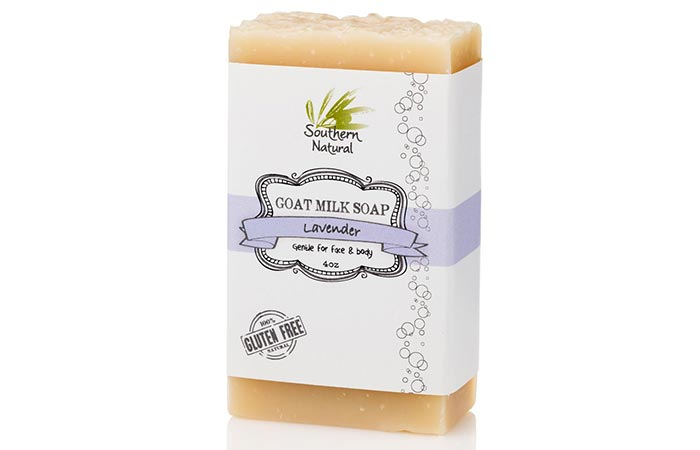 Southern Natural Lavender Goat Milk Soap