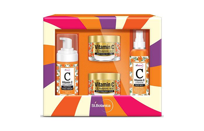 St. Botanica Vitamin C Brightening Facial Kit