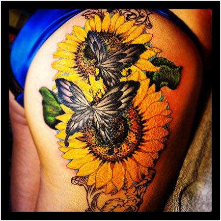 Best Sunflower Tattoo Designs Our Top 10