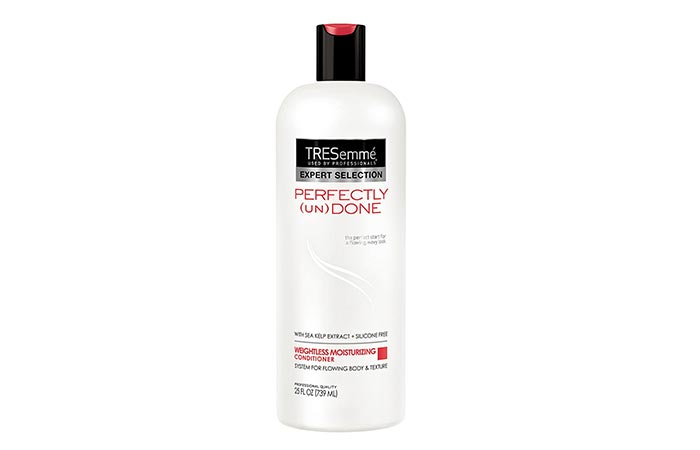 TRESemm Perfectly (Un)Done Weightless Moisturizing Conditioner