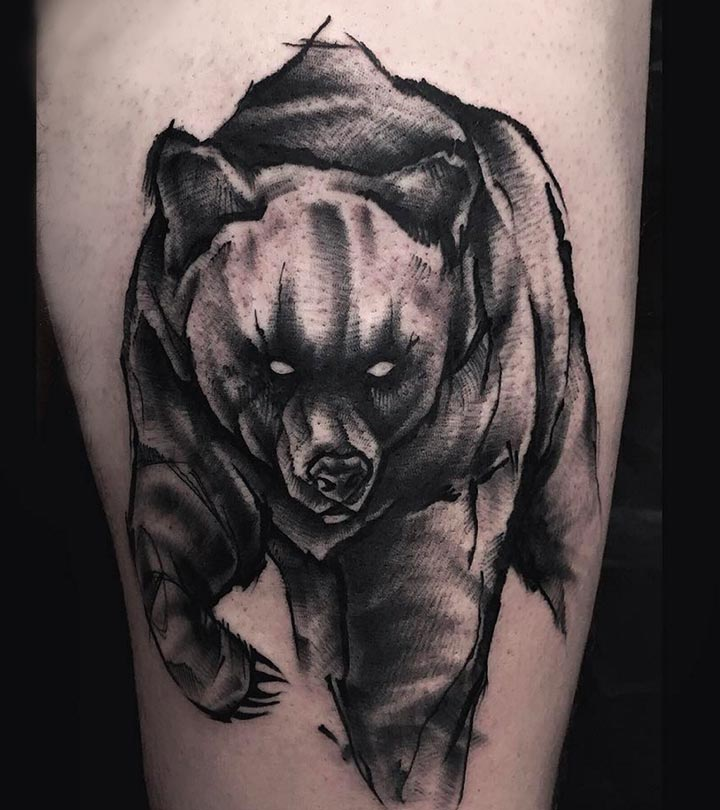 b5c9bb24f Top 10 Bear Tattoo Designs