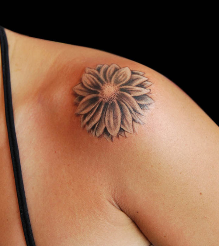 Top-10-Daisy-Tattoo-Designs