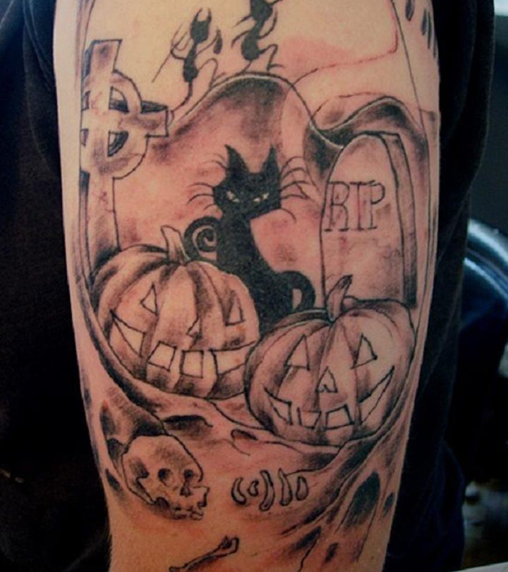 Top 10 Halloween Tattoo Designs