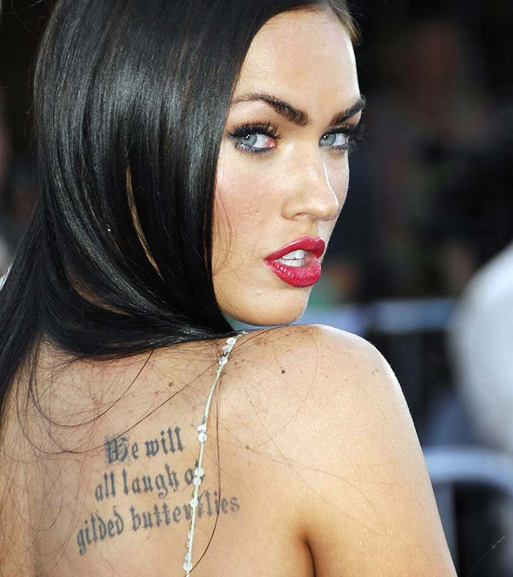 Top 7 Megan Fox's Tattoos And Their Meanings