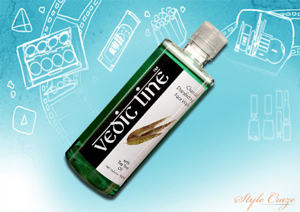 Vedic Line Charcoal Disinfecting Face Wash