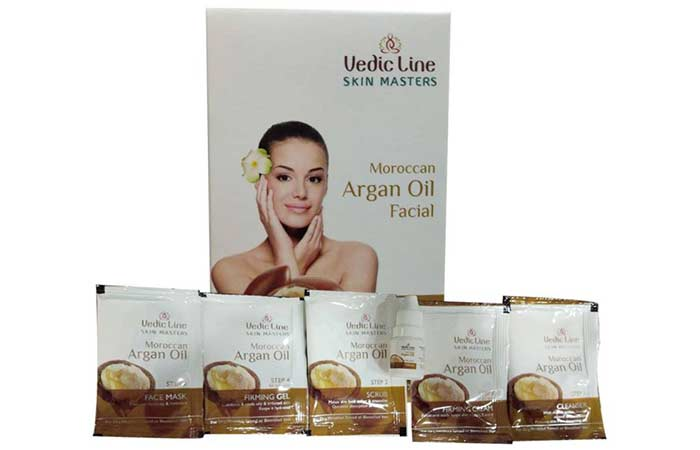 Vedic Line Moroccan Argan Oil Facial Kit