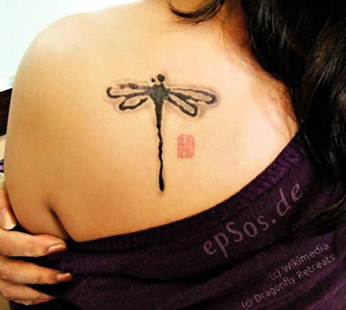 15 Stunning Dragonfly Tattoo Designs