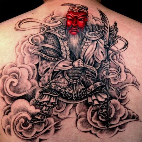 wizard samurai tattoo