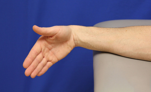 Tennis Elbow Exercises - Wrist Deviation