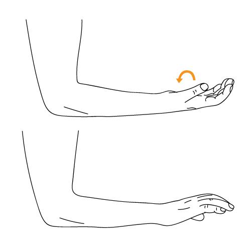 Exercises For Tennis Elbows - Wrist Turn